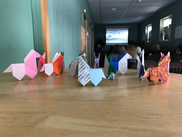 The Perkins Origami herd at VF